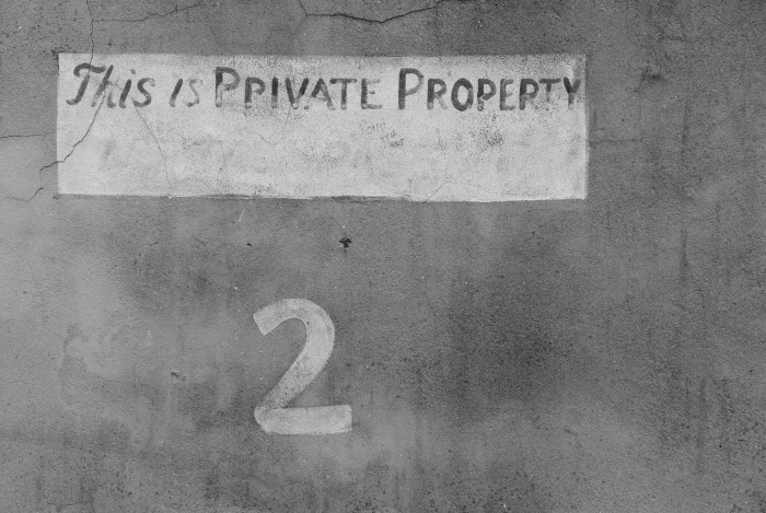 Private property. Staunton, Virginia.